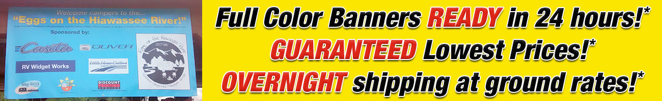 Full Color Vinyl Banners